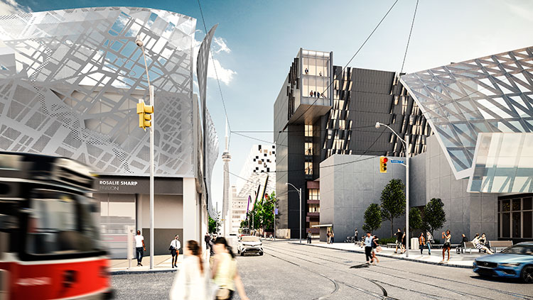 PRELIMINARY DESIGN: MORPHOSIS ARCHITECTS AND TEEPLE ARCHITECTS, IN COLLABORATION WITH TWO ROW ARCHITECTS