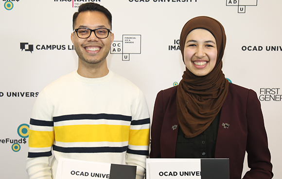 Photo of Excellence in Student Leadership Award recipients 2018/2019
