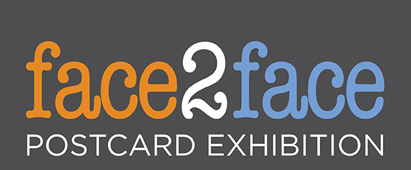 image graphic for face2face postcard exhibition v2