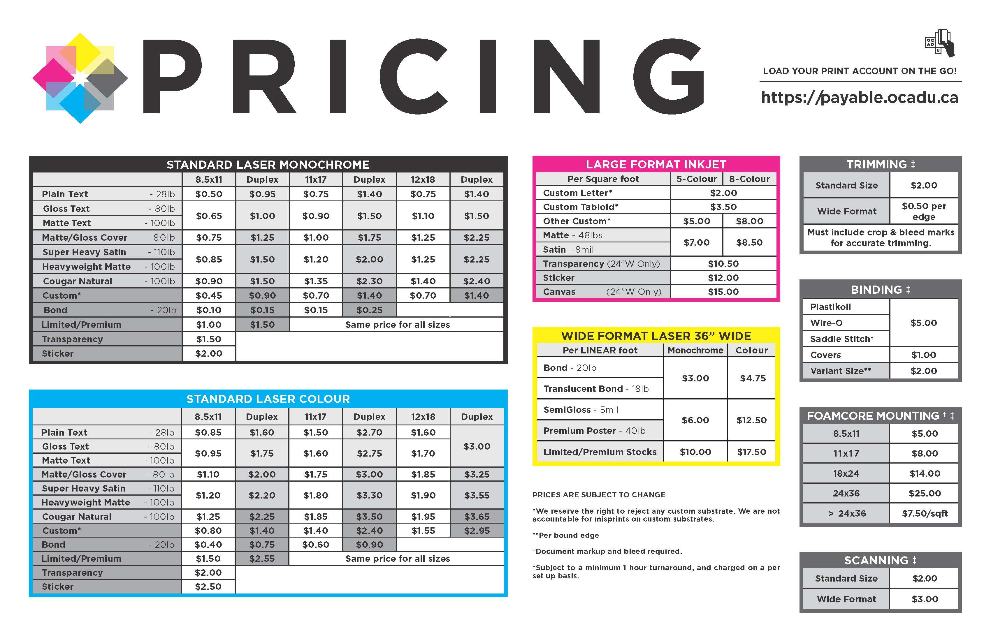 Copy Amp Print Services Ocad U