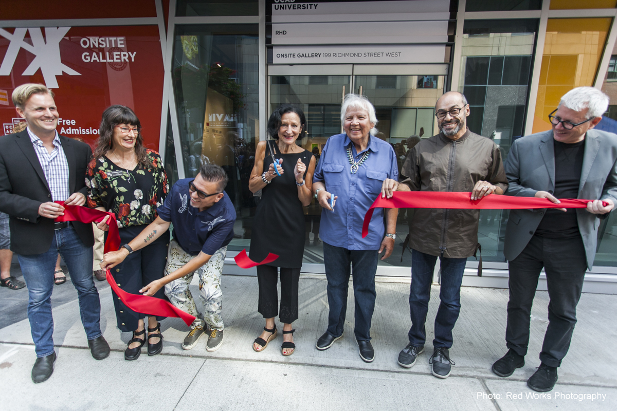 Ribbon Cutting for New Onsite Gallery
