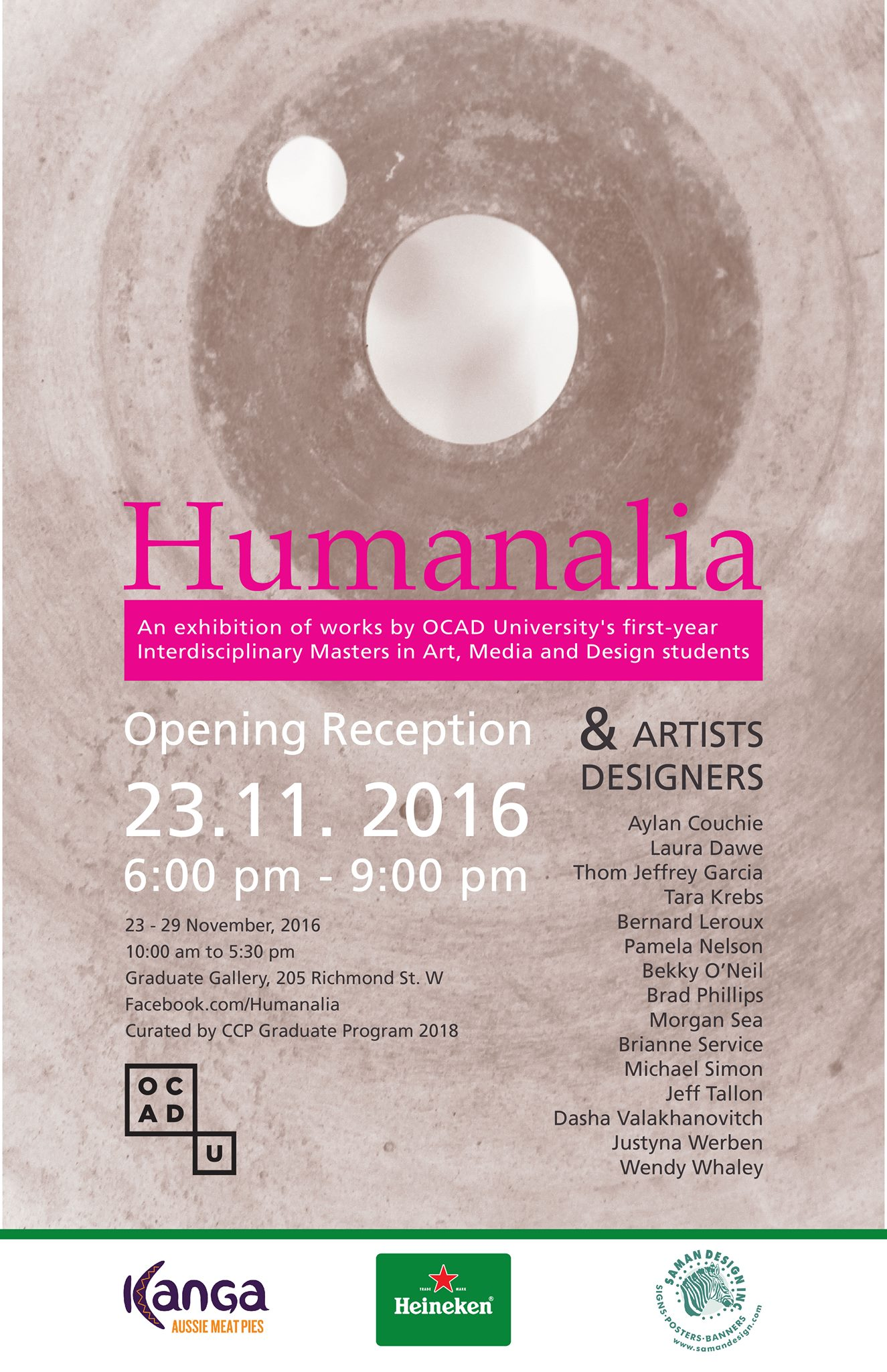 Humanalia Exhibition Poster