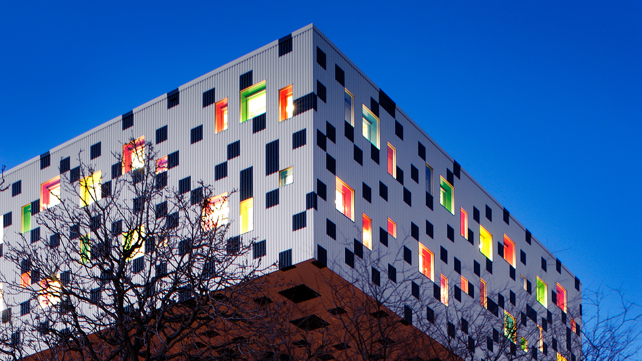 Photo of the Sharp Centre for Design taken by Richard Johnson