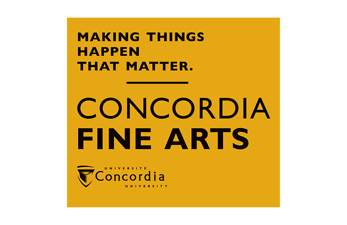 Concordia University – Faculty of Fine Arts
