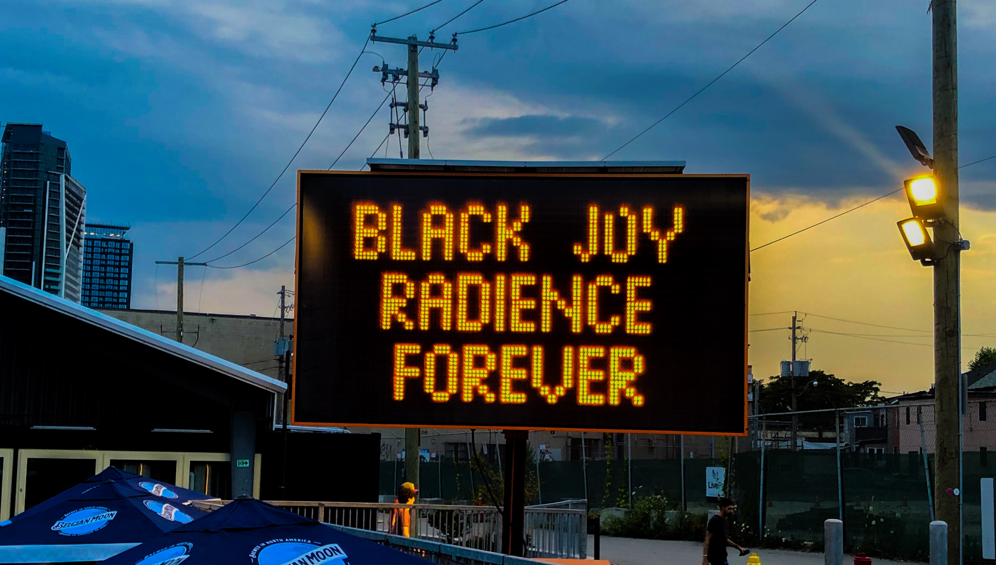 BLACK JOY RADIANCE FOREVER