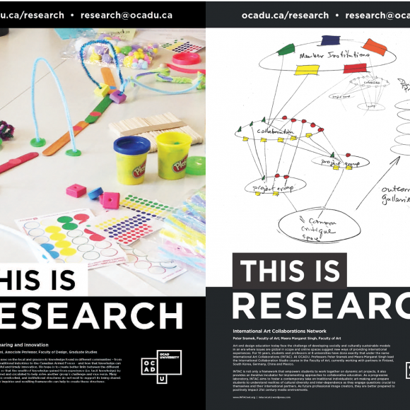 "A compilation of the two newly released ""this is research"" posters"